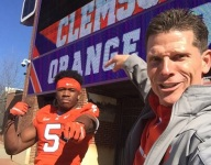 LB at top of Clemson's board visiting in July