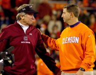 Swinney's memories of last UGA matchup include voicemail from former coaching rival