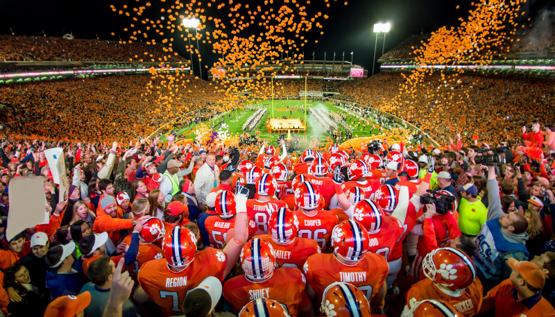 Most Exciting 25 Seconds In College Football Won T Be The Same The Clemson Insider