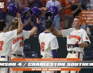 Davidson home run cuts deficit to 1