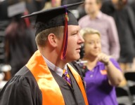 Graduating from Clemson extra special for Morris