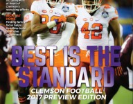 Picking Clemson's magazine cover
