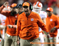 Clemson moves up in coaches poll