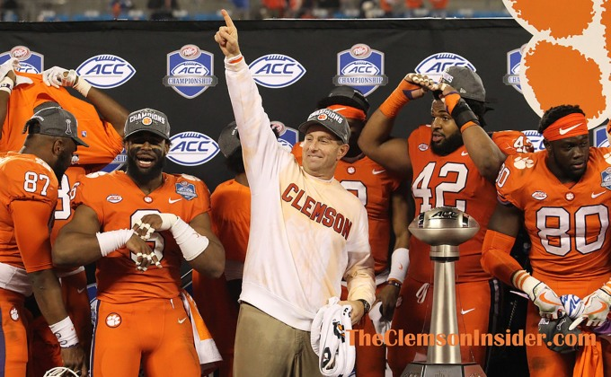 From the Sidelines: ACC Championship Game