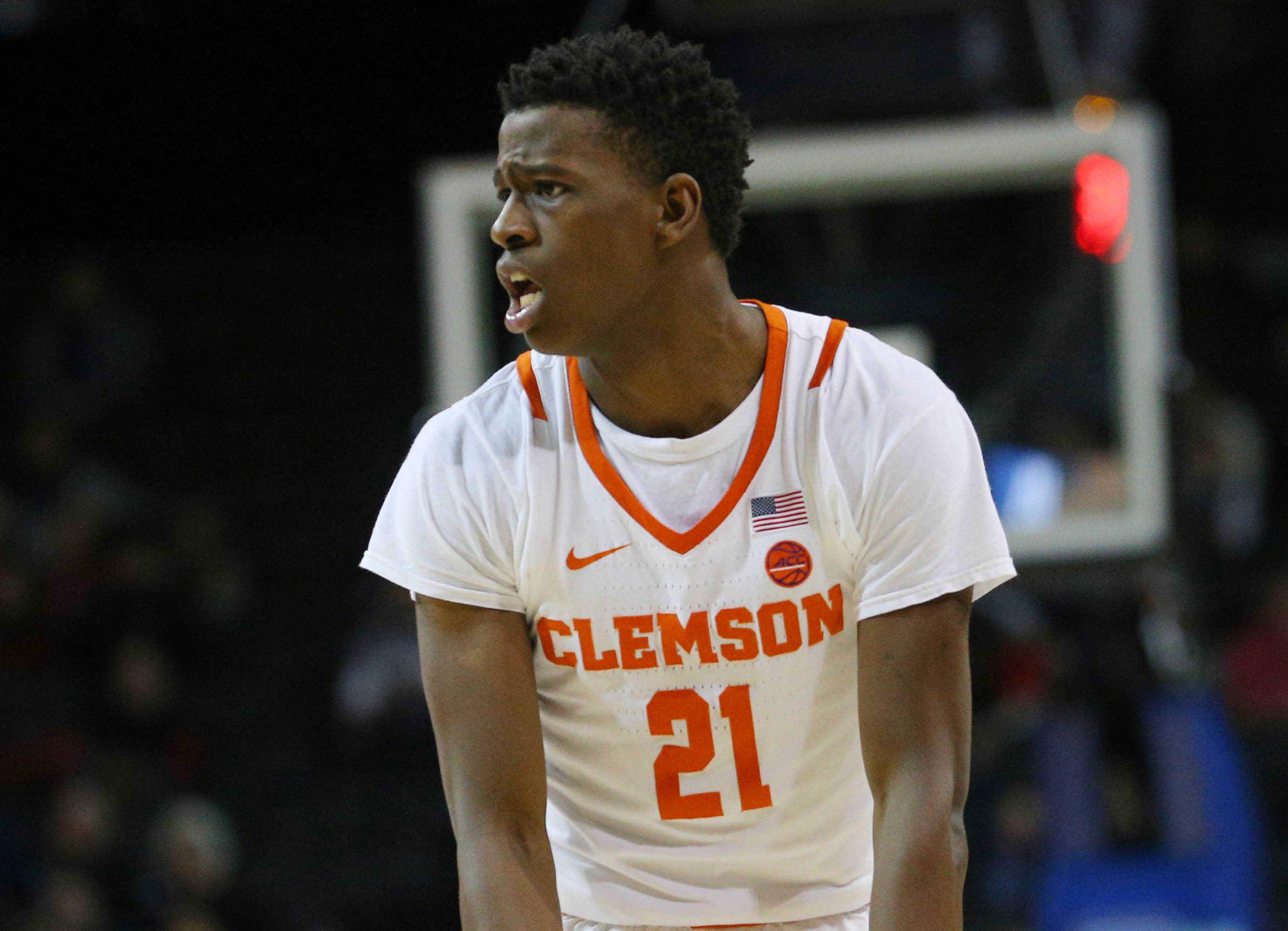 Anthony Oliver II Clemson Tigers Basketball Jersey