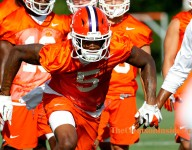 Scott hesitant to compare receivers to Tiger greats