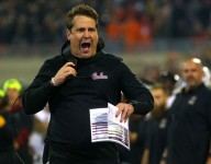 Muschamp back on the field at Georgia