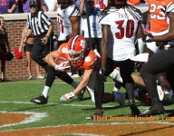 Dabo:  'Pretty cool moment' seeing son Will score a TD