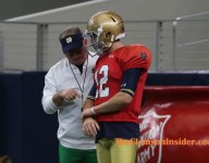 Difficult changes at quarterback proved fruitful for Tigers, Irish