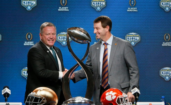 Swinney, Tigers relive history in first Cotton Bowl since 1940