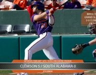 Gram slam for Teodosio extends Clemson's lead in the fifth