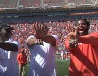 Clemson's Power Rangers with Championship Rings