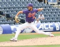 Clark throws near no-hitter in Tigers' rout of Louisville