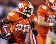 C.J. Spiller discusses Etienne, Bowman, state of college football