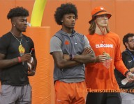 One more photo gallery from Wednesday's Swinney Camp