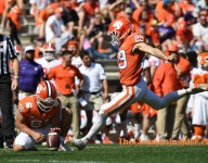 Potter connects from 35 to extend Clemson's lead