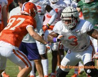 Clemson releases official depth chart for Georgia Tech game