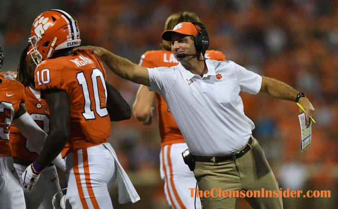 Swinney credits Brown for helping with his success at Clemson