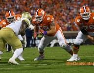 Cervenka, Clemson offensive line learned a lot in Chapel Hill