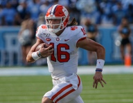 Helmet Stickers: No. 1 Clemson 21, North Carolina 20