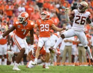 Tigers will need Potter's strong leg against Louisville