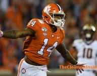 Overton glad he decided to stay at Clemson