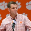 Two-Minute Drill: Swinney on making history, freshmen WR, Uiagalelei