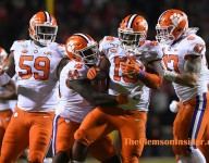 Halftime Photo Gallery: No. 5 Clemson at NC State