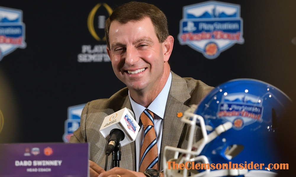 Swinney's success at Clemson disproves Cowherd's entire ...