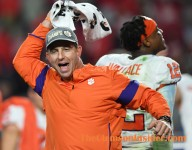 Watch Clemson celebrate the Fiesta Bowl victory