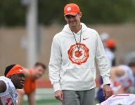 Jeff Scott 'very emotional' as last game approaches at Clemson