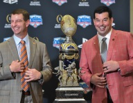Day is not going to waste time thinking about Clemson's protocol advantages