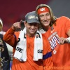 Swinney compares two once-in-a-lifetime quarterbacks
