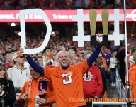 Story behind Clemson's superfan the 'D-Fence Guy'