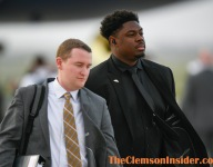 Clemson all business as it lands in New Orleans