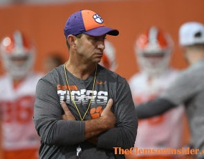 Swinney on recruiting amid COVID-19: 'It's a challenge'
