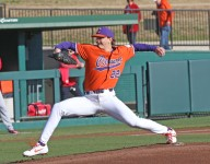 Weatherly overpowers Stony Brook with 14 strikeouts