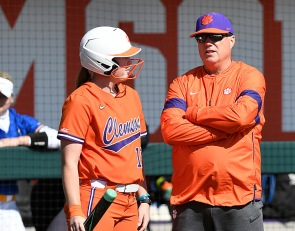 Clemson softball moves games