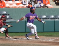 Clemson storms back in front