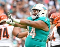 Wilkins tried to be a bright light in his first NFL season