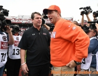 Another coach cycles out at South Carolina, while Swinney keeps rolling