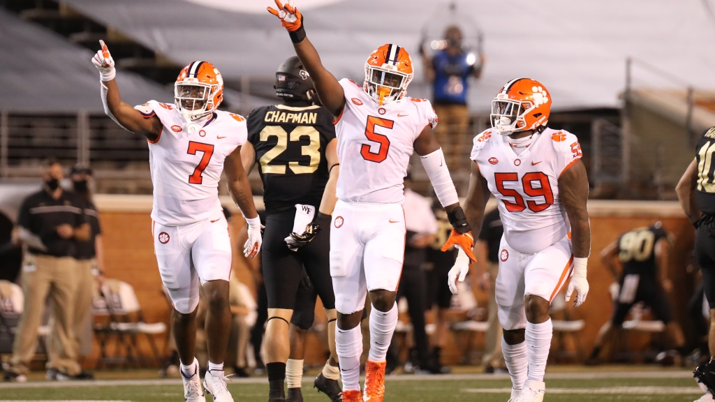 Clemson blew up the stat sheet in the first half | The ...