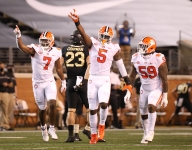 Helmet Stickers: No. 1 Clemson 37, Wake Forest 13