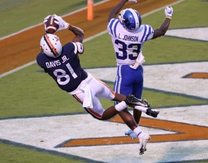 Virginia pass catchers present a tall challenge for the Tigers