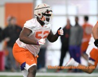 Clemson's O-Line wants to be labeled 'nasty'