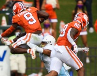 Halftime Photo Gallery: Clemson 49, Citadel 0