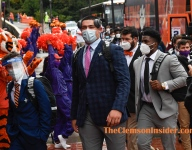 Bart Boatwright's Photo Gallery:  Clemson's arrival for Miami game