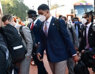 Bart Boatwright's Photo Gallery:  Clemson arrives for Boston College