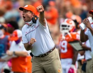 Swinney not happy with negative questions following 26-point win