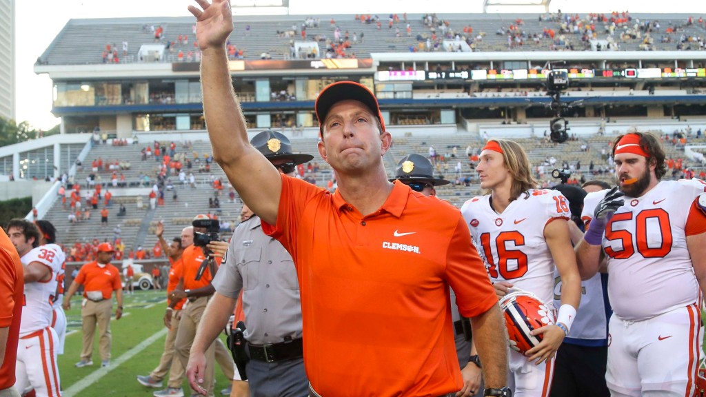 Clemson has opportunity to make history   The Clemson Insider
